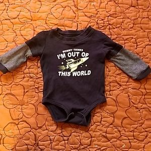Carter's Mommy Thinks I'm out of This World onesie